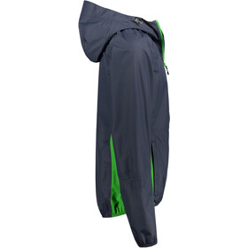 Meru Cromwell Veste imperméable 2,5 couches Homme, blue nights/online lime